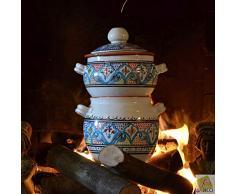 Couscous-Topf klein marokkanisch türkis