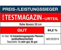 Rohe Germany 202072-28 Bratpfanne Novara 28 cm