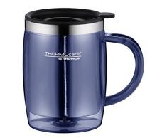 ThermoCafé by Thermos 4059.256.035 Tasse Desktop Mug, 0.45 L, Kunststoff, blau