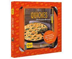 Quiche-Set: Plus 1 Kaiser-Quicheform Ø 28 cm (mit Hebeboden) (GU BuchPlus)