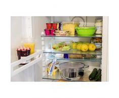 Xavax Analoges Thermometer (zum Aufhängen im Kühlschrank, Gefrierschrank, Tiefkühltruhe, Weinkühlschrank, Minibar, min. -35 Grad, MAX! +40 Grad) weiß