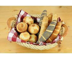 Brot- und Brötchen-Backblech, ►optimale Hitzeverteilung, ►Standard-Größe, ►Aluminium, perforiert, 34 x 38 cm
