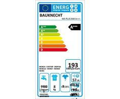 Bauknecht WA PLUS 844 Waschmaschine / A+++ / Frontlader / 1400 UpM / 8 kg / Smart Select / Jeans Programm / Big window /unterbaufähig / Weiß