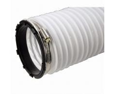 Xavax Abluftschlauch für Wäschetrockner, Innendurchmesser 10,2 cm, Länge 2 m