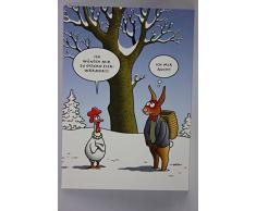 Postkarte A6 • 19338 Eierwärmer von Inkognito • Künstler: Tetsche • Cartoons • Ostern