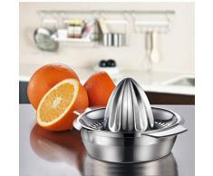 Schäler Mini Zitrus-Orange Zitrone Edelstahl handgepresstFruchtsafter 100% Rohsaft für gesundes Leben für Kinder