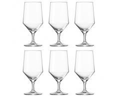 Schott Zwiesel 112842 Wasserkelch, Wasserglas Pure, 451ml, H 17cm (6 Stück)