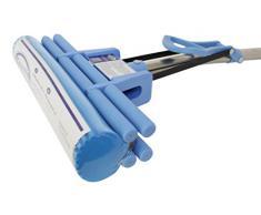 CleanAid OneTouch PRO Bodenwischer, WIschmop, Doppelwringer (PRO-Mop, 28cm)