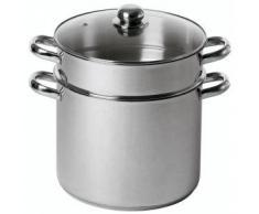 Edelstahl Couscous-Topf 24 cm 9 Liter PM Induktion Code 4936