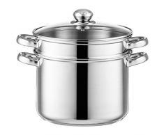 Stylen Cook Gusto Pastatopf/Spaghettitopf Edelstahl, Ø 24 cm