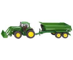 Siku 3863 - Traktor mit Frontlader u. Muldenkipper