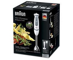 Braun MQ 5007 Puree Stabmixer Identity Collection, weiß