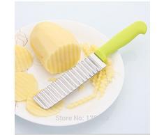 Generic 1 New Edelstahl Kartoffel Messer Gadget Gemüse Obst Cutter Schäler Messer PP materisl Kochen Tools Küche Zubehör