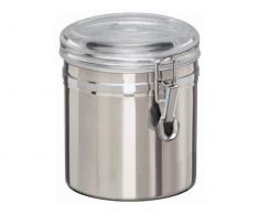 GMMH Edelstahl 4 er Vorratsdosenset Vorratsdose Vorratsbehälter Frischhaltedose Aufbewahrung Kaffeedose