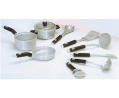 Theo Klein 9428 - WMF Topf- und Küchengeräte Set, 9 Teile, Spielzeug