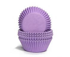 Papier-backförmchen Papier-förmchen Muffinförmchen Cupcakeförmchen Muffin Kapsel Cupcake Liner (LILA - 75 Stück)