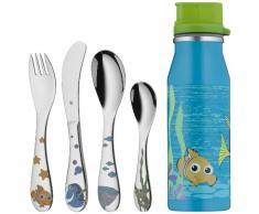 WMF Kinderbesteck Disney Findet Nemo 5-teilig, ab 3 Jahren Edelstahl Cromargan poliert, spülmaschinengeeignet farb- und lebensmittelecht