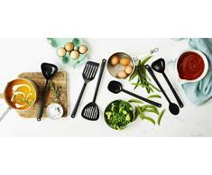 Stanley Rogers Küchenhelfer-Set, Kochbesteck in formschönem Design, Kochutensilien für beschichtete Pfannen und Töpfe - hitzebeständig & spülmaschinengeeignet, Menge: 1 x 7er Set