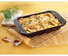 KAISER Grill-und Auflaufform 39,5 x 28 x 5 cm Cuisine Line schnitt- und kratzfeste Emaille-Oberfläche spühlmaschinenfest praktischer Griffrand