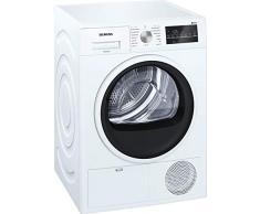 Siemens WT46G401 iQ500 Kondenstrockner / B / 8kg / SoftDry Trommel / autoDry-Technologie / Outdoor-Programm / drumLight / Super40-Programm / weiß