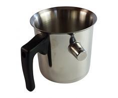 Wasserbadkocher Simmertopf 0,9l Edelstahl