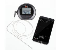 Ultranatura BBiQ Grillthermometer Bluetooth zum Grillen, Braten & für die Küche, Bratenthermometer inkl. App, Fleisch Thermometer zum Kochen