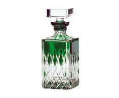 ARNSTADT KRISTALL Whiskykaraffe VENEDIG smaragd grün (25 cm) Kristallglas · mundgeblasen · handgeschliffen · Handmade in Germany