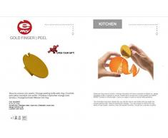 e-my Gold Finger Peel Orangenschäler mit Ring