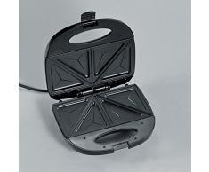 SEVERIN Sandwich-Toaster, Sandwichplatte, 600 W, SA 2969, Edelstahl/Schwarz