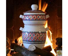Couscous-Topf klein Bakir, Rot