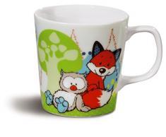 Nici 39640 Tassen, Porzellan, mehrfarbig, 8,5 x 8,5 x 8 cm