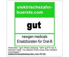 newgen medicals 8x Ersatzbürsten passend für viele Oral-B®**-Elektrozahnbürsten***