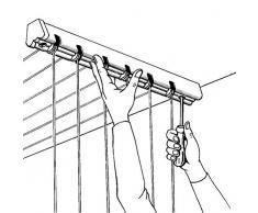 Vileda Gimi Lift 120 Wäschetrockner für Wand und Decke aus Stahl, 7 m Trockenlänge