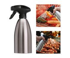 CHSEEA Essig und Ölsprüher Öl-Zerstäuber Essig-Zerstäuber Pump Oil Sprayer Öl & Essig Spender Flasche für Tägliches Kochen/BBQ/Picknick im Freien und Camping (500ML)#2