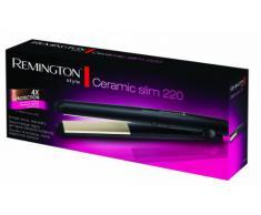 Remington Haarglätter Ceramic Slim S1510, antistatische Keramik-Turmalin-Beschichtung, schwarz
