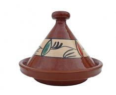 Marokkanische Tajine zum Kochen Ø 35 cm f. 3-5 Personen