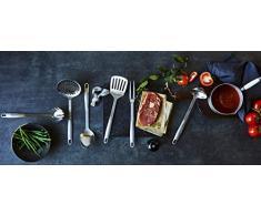 Stanley Rogers Küchenhelfer-Set, Kochbesteck aus hochwertigem Edelstahl mit Premium Oberflächenveredlung in satinierter Optik - spülmaschinengeeignet, Menge: 1 x 6er Set