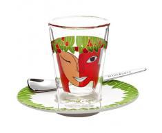 Ritzenhoff 2600014 Espressoglas mit Untertasse Mohr F12