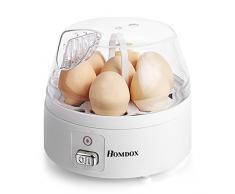 Teamyy 7 Eier Elektrisch Eierkocher Eier kocher mit Wasserstandsanzeiger Weiß