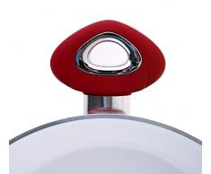 Bialetti Y0CBT20280 Ceramic OK rot Servierpfanne mit 2 Griffen, ohne Deckel, keramikbeschichtet Ø 28 cm