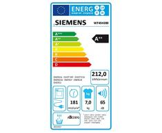 Siemens WT45H200 iQ300 Wärmepumpentrockner / A++ / 7 kg / Weiß / Kondensator-Schutzfilter