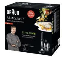 Braun Multiquick 7 - MR 740 cc kabelloser Premium-Stabmixer, schwarz