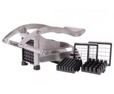 Pommesschneider Edelstahl - Kartoffelschneider - Pommes Frites Schneider - Schneidemaschine - Gemüseschneider