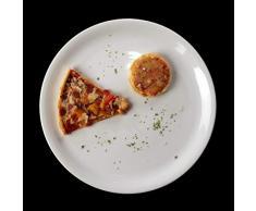 Holst Porzellan PL 28 FA1 Pizzateller 28 cm Small Size, weiß, 28.5 x 28.5 x 2.2 cm