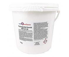 Pool Flockmittel Flockungsmittel Granulat 5,0 kg Eimer - für kristallklares Wasser