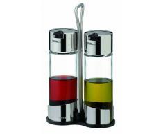Tescoma Tischset, Glas, Silber/Schwarz, 12.4 x 6.1 x 21.2 cm
