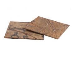 Design Servierplatte aus Marmor, quadratisch massiv Naturstein Unikat Steinmetzarbeit, elegant, als Teller, Platzteller, Käseplatte Wurstplatte Aufschnittplatte oder Sushiplatte für Ihre Festtafel 40 x 40 x 1,5 in cm