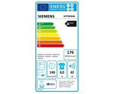 Siemens WT7WH540 Wärmepumpentrockner / A+++ / 160 kWh/Jahr / Weiß / 148 UpM / SoftDry Trommel