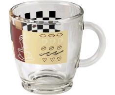 Xavax Kaffeetasse aus Glas 111084 VE6
