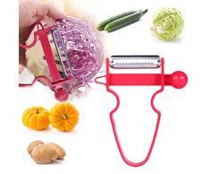 CatcherMy Magische Trio Peelers, 3 Stück Universalschäler Edelstahl Multifunktion Julienne & Gemüse Gemüse Obst Küche Cutter für Gemüse Früchte